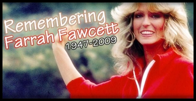 Farrah Fawcett has been seen around Los Angeles and New York on billboards  and bus stop. Her image was used to promote CNN s The Seventies series  which is ... f167509ccb74