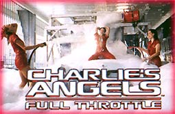 Soon to be a famous scene from Charlie's Angels Full Throttle -- The Angels get all soaped up!!!