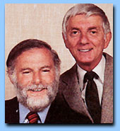 Aaron Spelling and Leonard Goldberg  the men (aka GODS) who created the seires Charlie's Angels