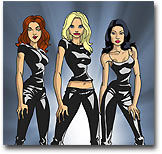 Charlie's Angels Animated Adventures begins MAY 13 and every TUESDAY