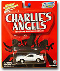Here is the packaing for Johnny Lightning's release of the Charlie's Angels 1976 Ford Mustang Cobra 2. (aka Jill Munore's Charles Townsend Company Car).  This new Angel memorabilia will be releasing on the new line called  Hollywood on Wheels.