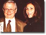 Kate Jackson and her heart doctor at the THIRD ANNUAL WOMEN'S LEGACY LUNCHEON --- Thursday, May 15th 2003. PHOTO BY MIKE PINGEL
