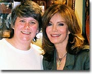 Charlie's Angels fan Nancy Smith meets Jaclyn Smith