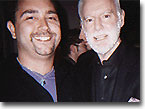 Mike Pingel & Leonard Goldberg at the after party of the premiere of Charlie's Angels: The Movie in 2000!