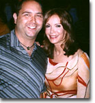 charliesangels.com's Mike Pingel and Charlie's original Angel Jaclyn Smith @ the after party for Charlie's Angels Full Throttle.